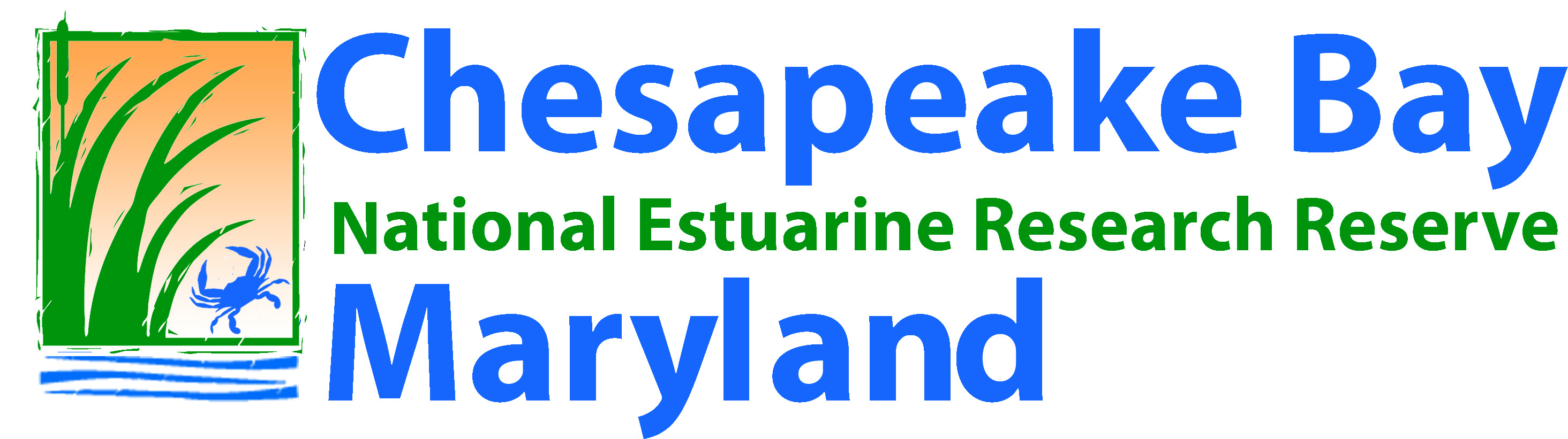 Chesapeake Bay National Estuarine Reserve Maryland logo