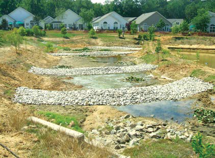 A multi-cell pond-wetland complex to more effectively capture and treat runoff in Centerville MD